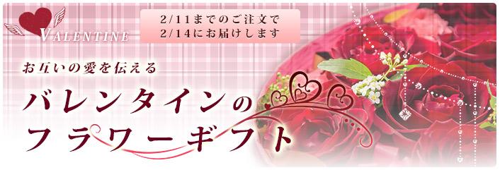 バレンタインフラワー~恋を彩るバレンタインのアレンジメントの花々を集めました~